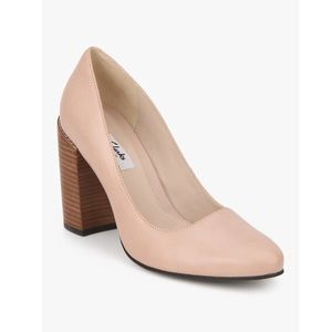 Clarks Crumble Cream Pink Belly Shoes